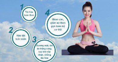 yoga trẻ hóa khuôn mặt thon gon cơ thể