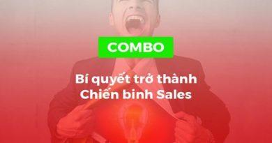 Combo Bí quyết trở thành Chiến binh Sales
