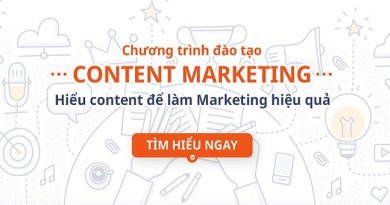 Combo Content Marketing - Hiểu Content để làm Marketing hiệu quả