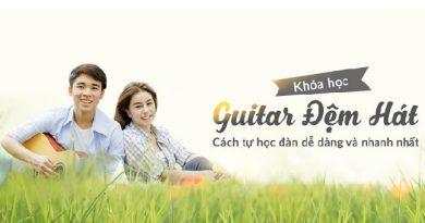 Combo Guitar đệm hát cơ bản đến nâng cao