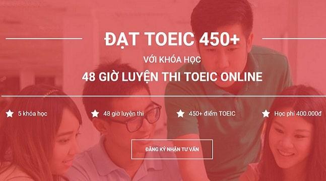 Combo khóa học chinh phục TOEIC 450