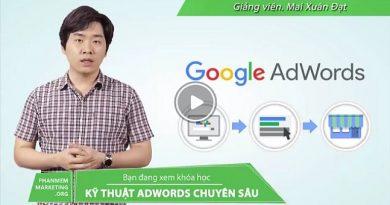 Google AdWords từ cơ bản đến nâng cao