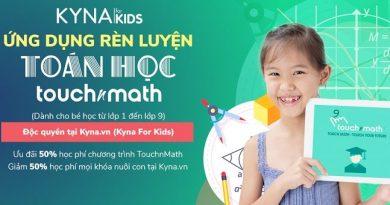 Học toán cùng TouchnMath Cấp 1