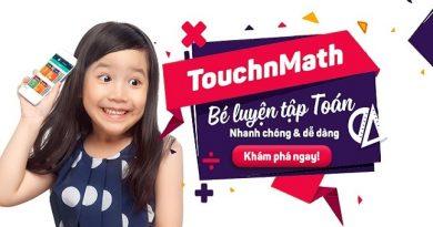 Học toán cùng TouchnMath Cấp 2