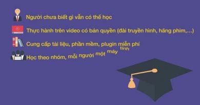 Trọn bộ 3 khóa học dựng video chuyên nghiệp