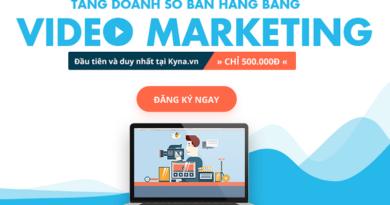 Tăng doanh số bán hàng bằng Video Marketing