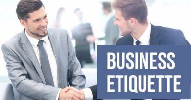 Các nghi thức giao tiếp trong kinh doanh ( CBP™ Business Etiquette )