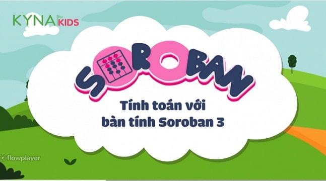 Học tính toán nhanh cùng bàn tính Soroban 3