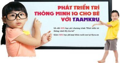 Phát triển IQ vượt bậc cùng Taamkru Vietnam