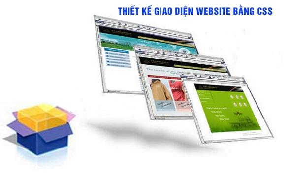 Trang trí website bằng CSS