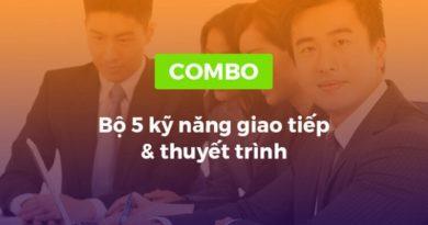 Combo khóa học 5 kỹ năng giao tiếp và thuyết trình