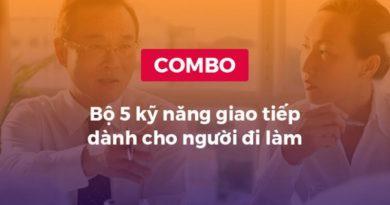 Combo khóa học Bộ 5 kỹ năng giao tiếp dành cho người đi làm