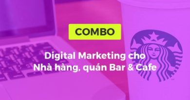 Combo khóa học Digital Marketing cho nhà hàng quán bar & cafe