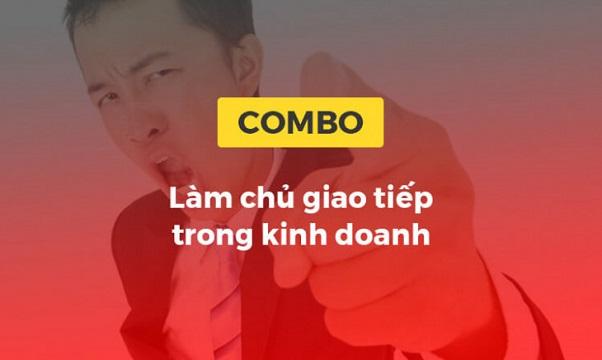 Combo khóa học Làm chủ giao tiếp trong kinh doanh