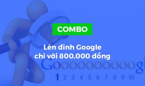 Combo khóa học Lên đỉnh Google chỉ với 800,000 đồng
