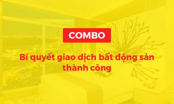 Combo khóa học bí quyết giao dịch bất động sản thành công