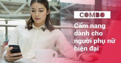 Combo khóa học cẩm nang dành cho người phụ nữ hiện đại