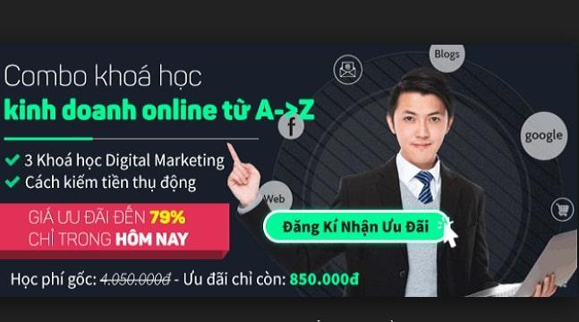 Combo khóa học giải pháp bán hàng Online tuyệt đỉnh