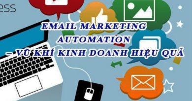 Email Marketing Automation – Vũ khí kinh doanh hiệu quả