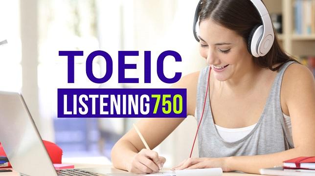 Toeic Listening 750