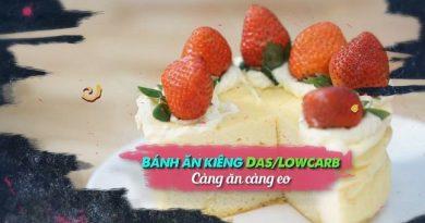 Bánh ăn kiêng Das-Lowcarb Càng ăn càng eo