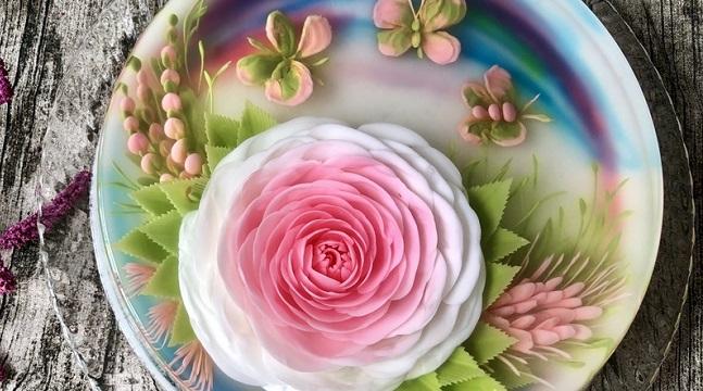 Combo 2 khóa học làm thạch rau câu 3D, 4D, tạo hình hoa hồng siêu đẹp