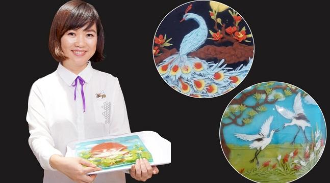 Combo thạch rau câu 3D nâng cao - 3 mẫu chim phú quý: Thiên nga-Công-Hạc