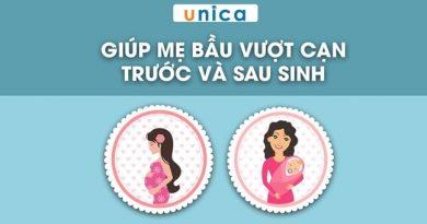 Giúp mẹ bầu vượt cạn trước và sau sinh