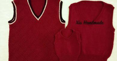 Học đan len cơ bản & đan áo gile hoàn chỉnh cho cả gia đình