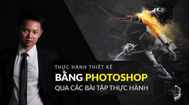 Học thiết kế chuyên nghiệp bằng Photoshop qua các bài thực hành