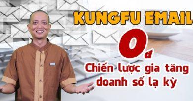Kungfu Email 0 đồng và Chiến lược gia tăng doanh số lạ kỳ