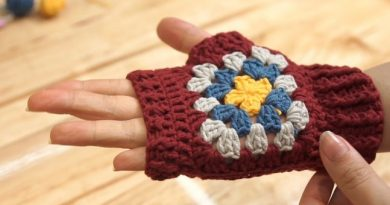 Móc găng tay cực xinh làm quà tặng người thương