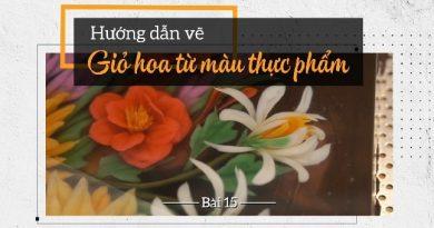 Thạch rau câu 3D Cách vẽ, tạo hình trọn vẹn lọ hoa đa sắc với màu thực phẩm