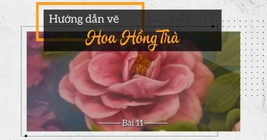 Thạch rau câu 3D Hoa hồng trà nền xanh với đế mít cốt dừa lạ miệng