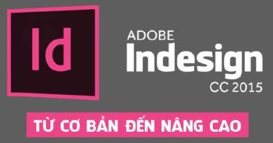Adobe Indesign CC 2015 từ cơ bản đến nâng cao