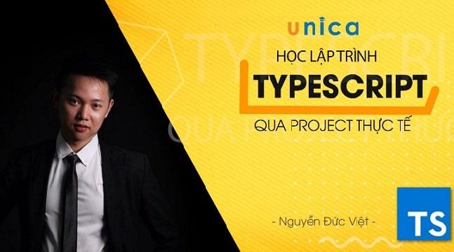 Học lập trình Typescript qua project thực tế