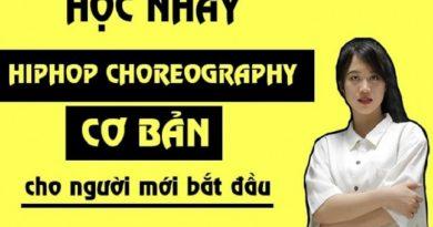 Học nhảy Hiphop Choreography cơ bản cho người mới bắt đầu