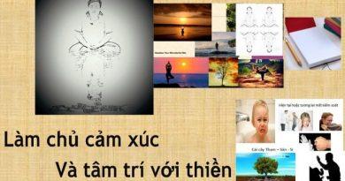 Làm chủ cảm xúc và tâm trí với Thiền