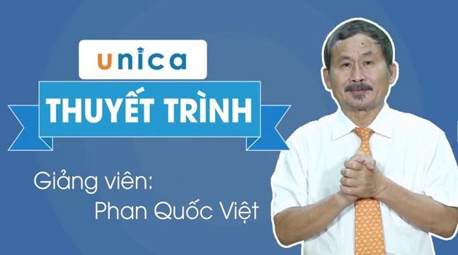 Top 2 khóa học nổi tiếng của Phan Quốc Việt có trên Unica