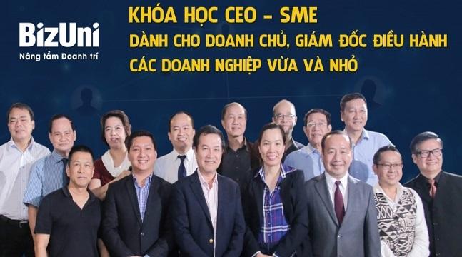 Trọn bộ khoá học đào tạo CEO, dành cho chủ doanh nghiệp, CEO - SME Online