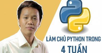Làm chủ Python trong 4 tuần