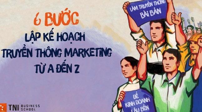 6 bước lập kế hoạch truyền thông marketing từ A - Z