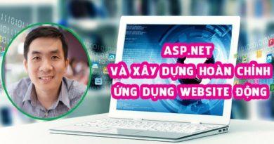 ASP.NET và Xây dựng hoàn chỉnh ứng dụng website động