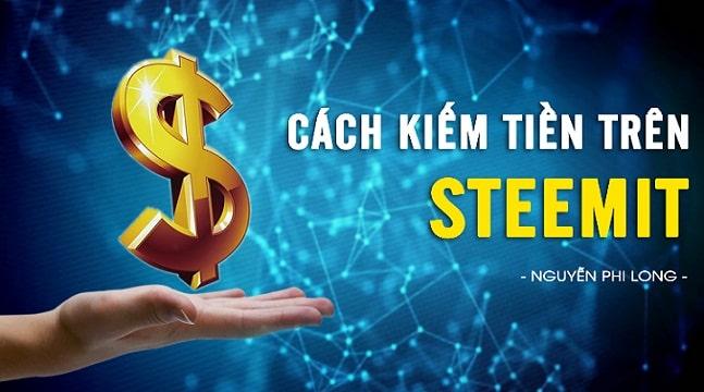 Cách tạo thu nhập thụ động trên nền tảng Steemit