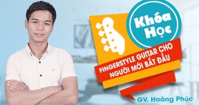 Fingerstyle guitar cho người mới bắt đầu