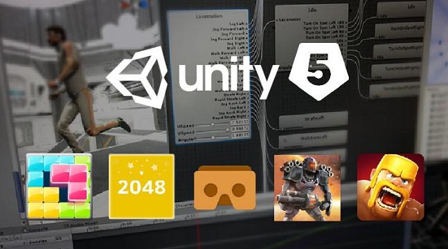 Phát triển trọn bộ 10 game 2D với Unity 5