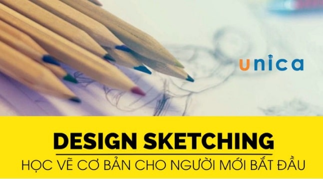 Design Sketching - Học vẽ cơ bản cho người mới bắt đầu