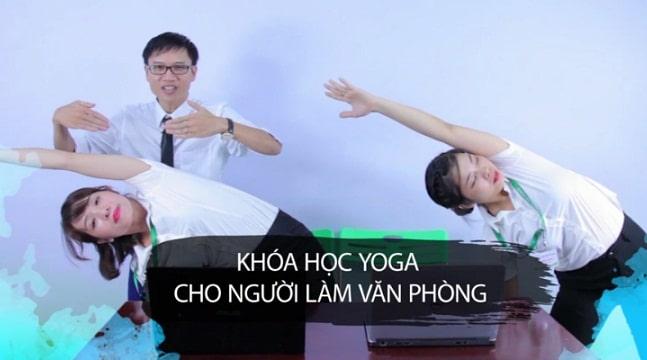 Liệu pháp Yoga cho dân văn phòng