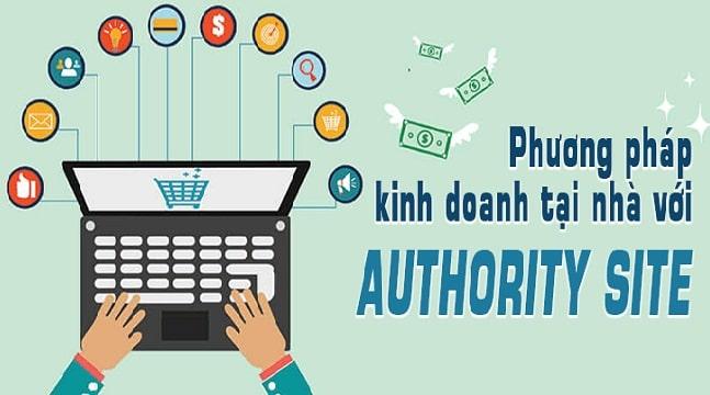 Phương pháp kinh doanh online tại nhà với Authority Site