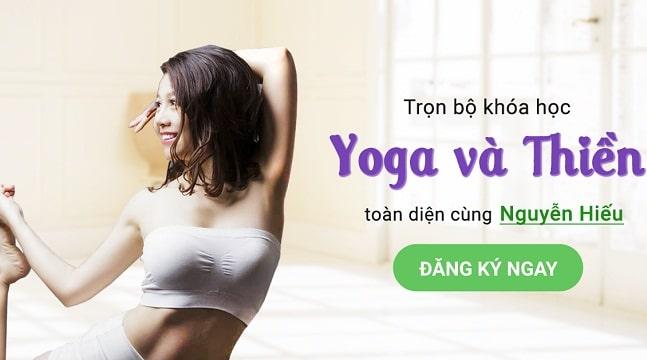 Trọn bộ khóa học yoga thiền